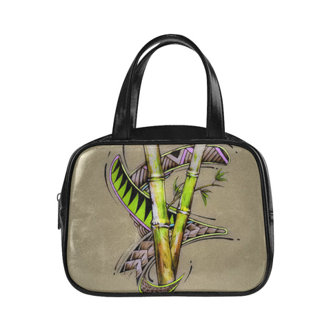 Bamboo Dreams Handle Handbag (Model 1662)