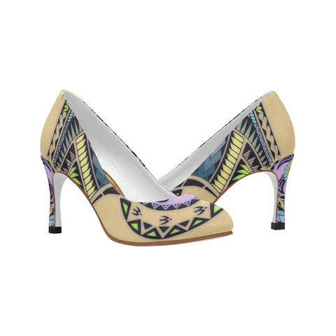 Polynesian Style 5 KillerHeelz- Women's Pumps (Model 048)