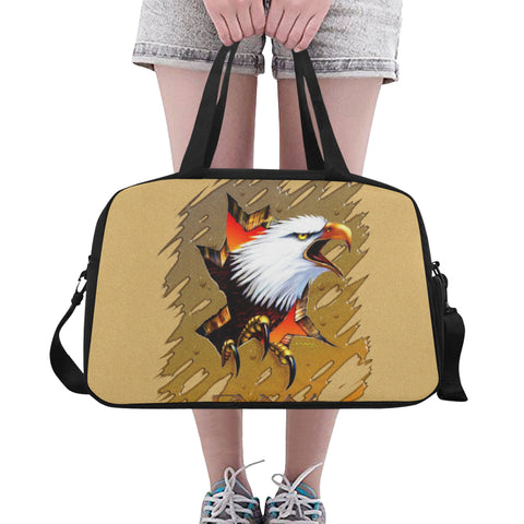 Eagle Breakout-Tote And Cross-body Travel Bag (Black) (Model 1671)