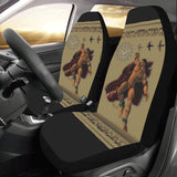 Polynesian Boar Hunter- Car Seat Covers (Set of 2)