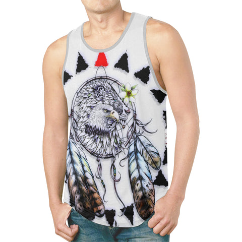 Eagle Lion Men's All Over Print Tank Top (Model T46)