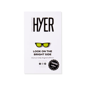 Hyer Pin Look on the Bright Side