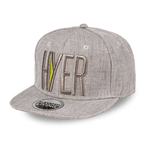 HYER Team Grey Snapback Hat