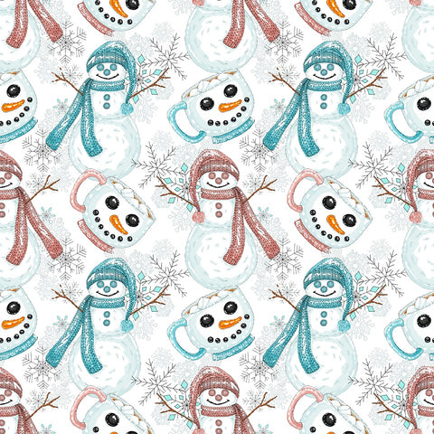 Snowflakes and Snowmen