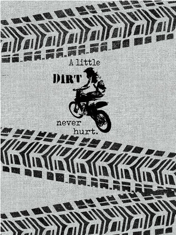 Dirt Never Hurt Panel (Generic Rider)