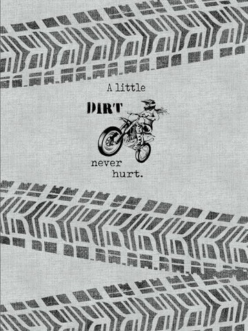 Dirt Never Hurt Panel (Female Rider)