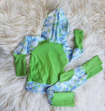 Grow with me Hoodie and Joggers * 12m - 3y Grow with Me Set * Floral Outfit for Girl * Matching Girly Outfit * Pink Floral Set * Girls gift