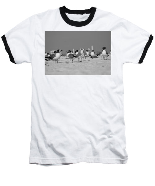 Day at The Beach - Baseball T-Shirt