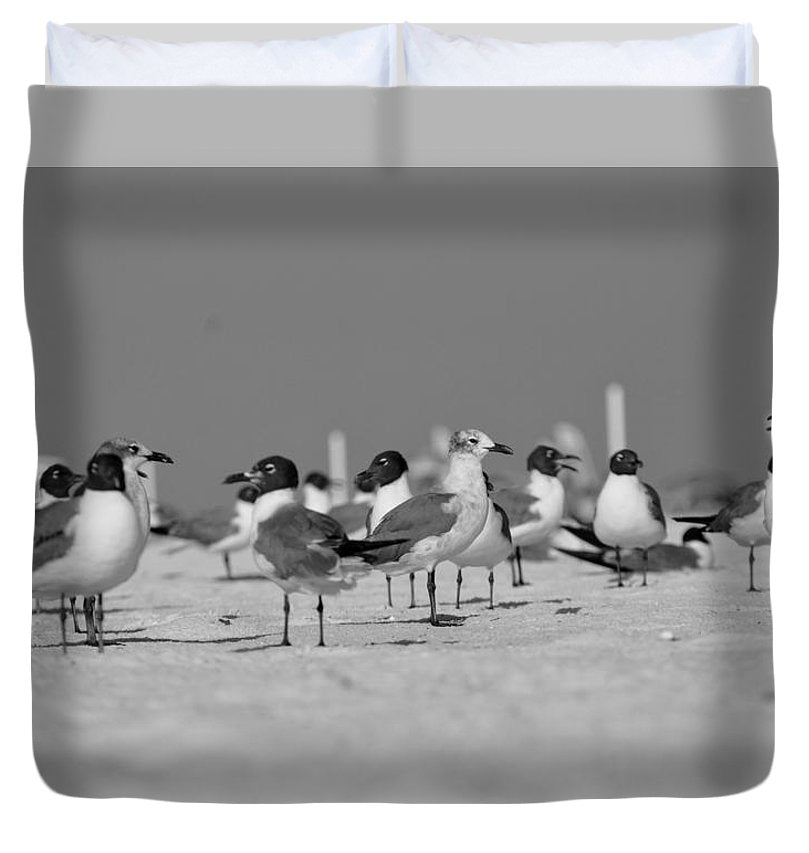 Day at The Beach - Duvet Cover