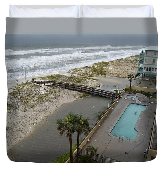 Hurricane Sally - Duvet Cover