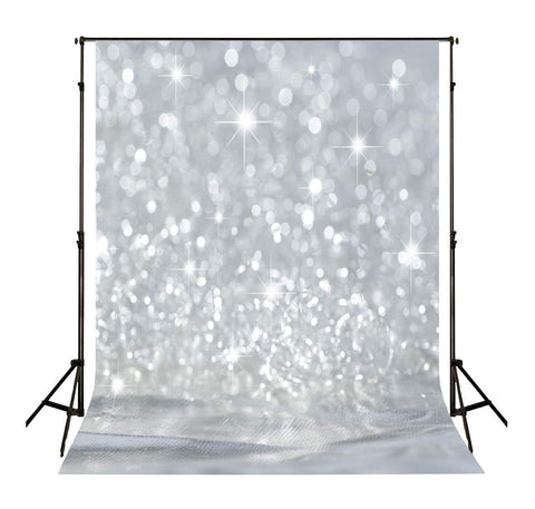 ATAO Silver Glitter Backdrops for Photography Shiny Stars Photo Studio Backgrounds 7x5ft Vinyl Backdrop Shooting