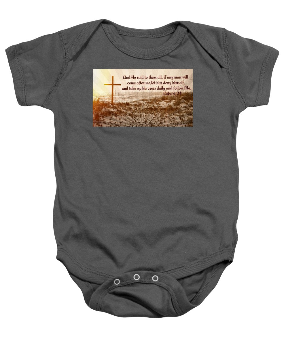 Follow Christ - Baby Onesie