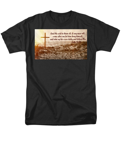 Follow Christ - Men's T-Shirt  (Regular Fit)