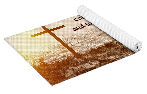 Follow Christ - Yoga Mat