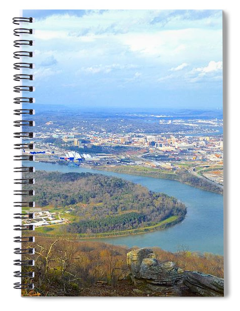 Lookout Mountain - Spiral Notebook