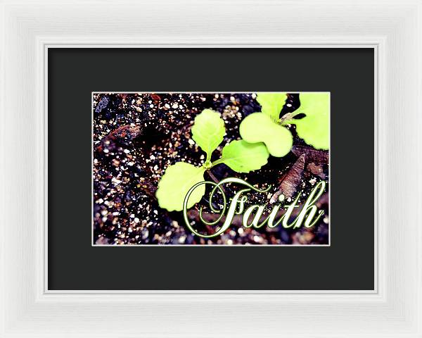 Mustard Seed Faith - Framed Print