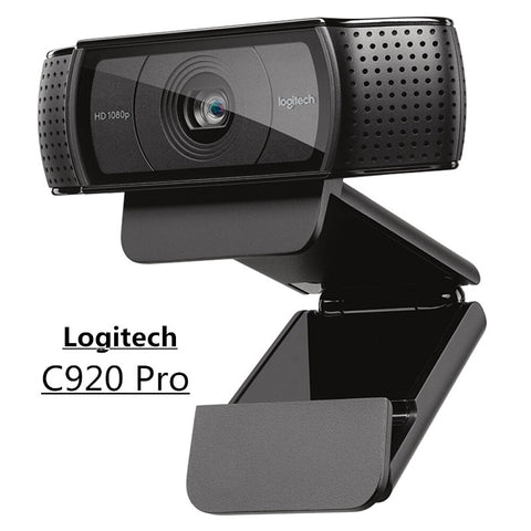 Original Logitech C920 PRO HD Webcam 1080P Widescreen Video Calling and Recording Web Camera for Computer , C920 upgrade version
