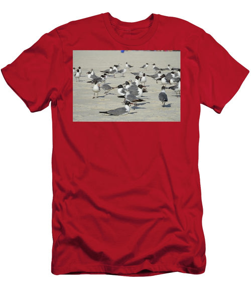 Seagulls at the Beach - T-Shirt