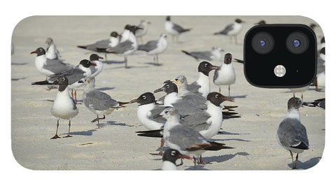 Seagulls at the Beach - Phone Case