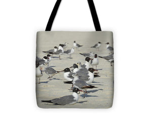 Seagulls at the Beach - Tote Bag