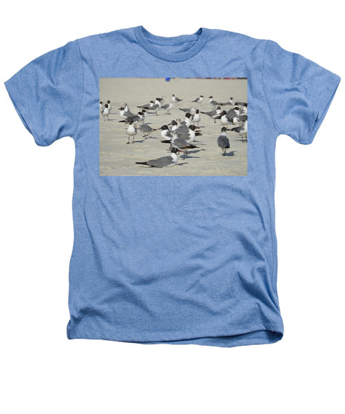 Seagulls at the Beach - Heathers T-Shirt