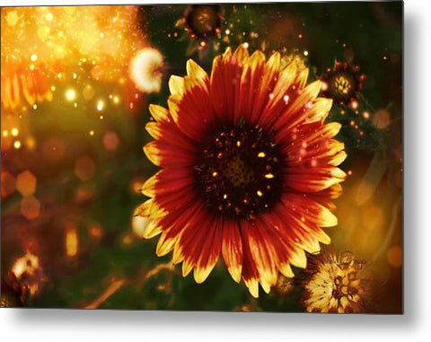 Shimmer of Fall - Metal Print