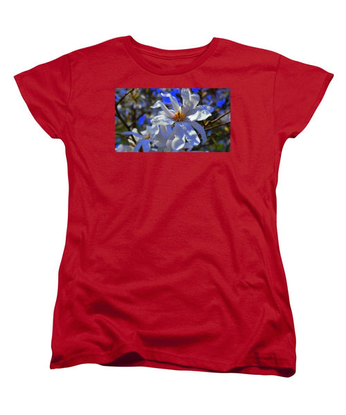 Star Magnolia - Women's T-Shirt (Standard Fit)