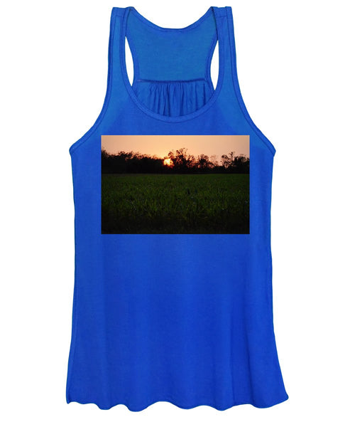 Sunset in the Evening - Women's Tank Top
