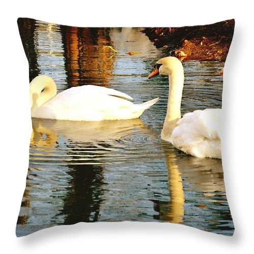 Swan Lake - Throw Pillow