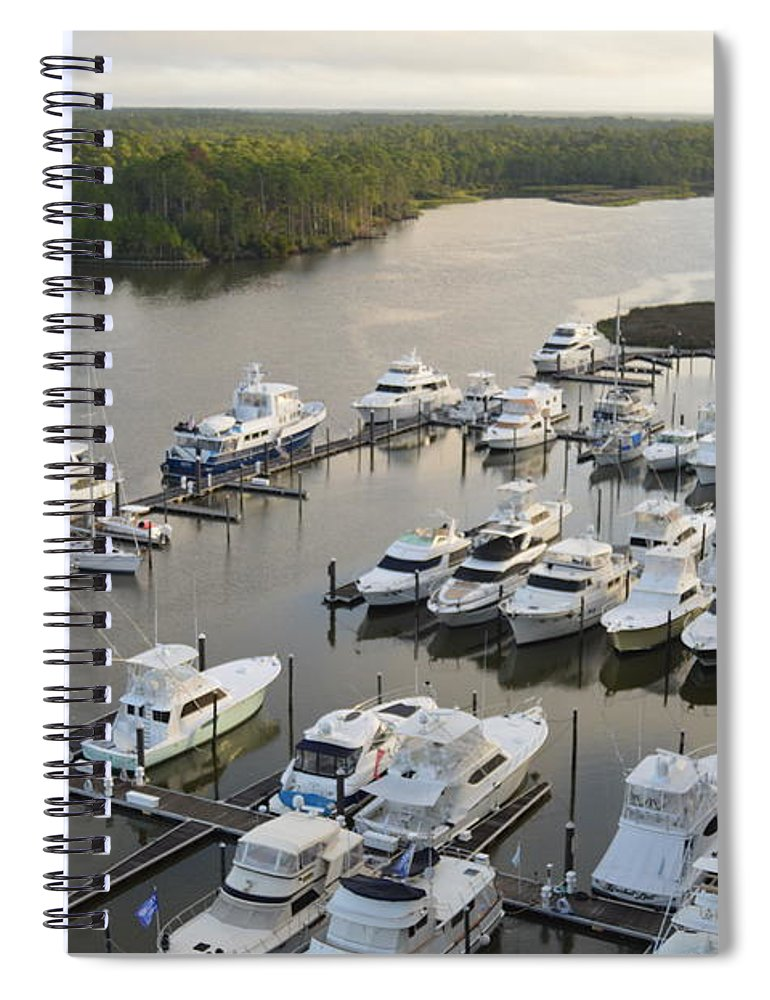 The Yacht Club - Spiral Notebook
