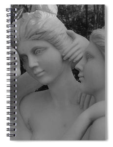 Three Graces Statue - Spiral Notebook