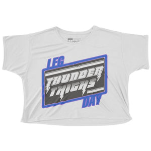 Thunder Thighs Cropped Tee