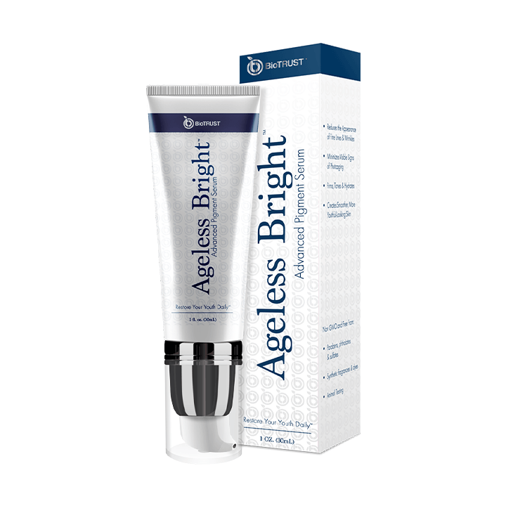 Ageless Bright- Natural, Skin-Brightening Serum
