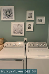 Laundry Rooms With Top Loaders - Melissa Vickers Design