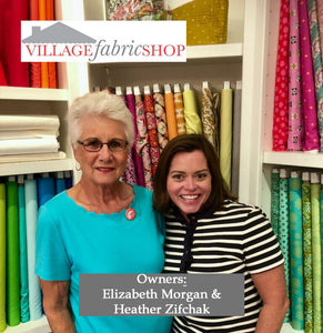 The Village Fabric Shop: My Happy Place
