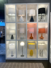 Large display with 16 different lamps