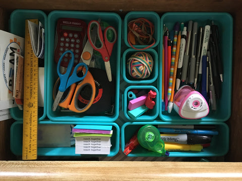 Cluttered Draw in organizers
