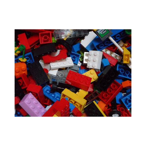 Jumbled up legos