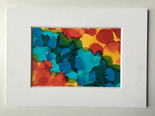 Abstract I - Alcohol Ink Original - Melissa Vickers Design