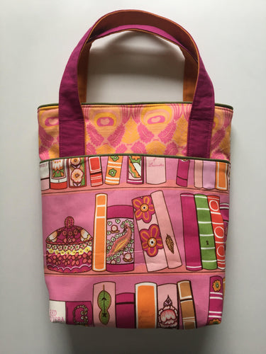 Small Tote Bag - Book Lover - Melissa Vickers Design