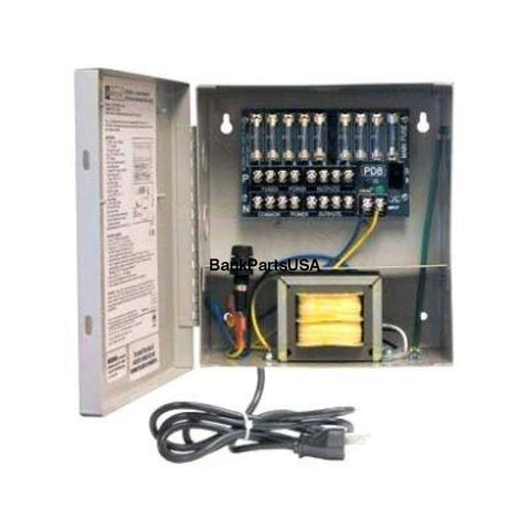 Altronix Cctv Power Supply 8 Fused Outputs 24/28Vac 3.5A 115Vac Bc100 Enclosure (Altv248Ul