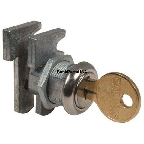 Comp X Keyed Alike Drawer Dead Bolt For Door Thickness (In.): 1/4 Stainless Steel Mfw23010 Key # 34