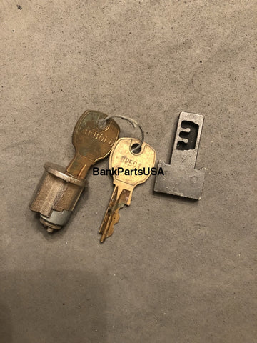 Diebold Undercounter Lock And Key Core Assy #501 41-019209-501A