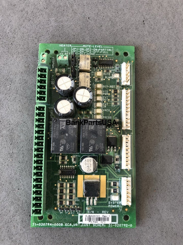 Diebold Vat 40 Customer Control Board 31-020794-000B New