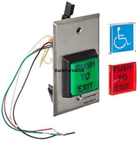 Emergency Exit Button W/ Timer Eeb2 Assa Abloy