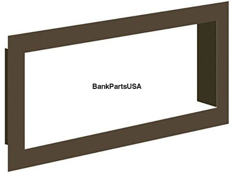 Recessed Frame Mount For Use On 7X18 Led Signs 1/8 Bent Aluminum Plate Std Semi-Gloss
