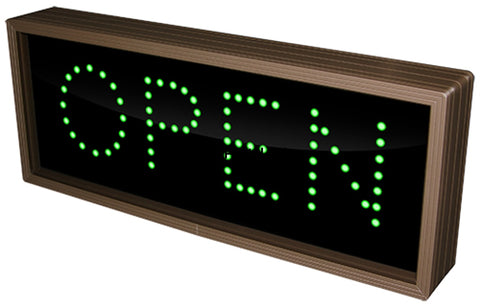 Signal Tech 5887 Led Open Close Sign 7Hx18Wx2.5D