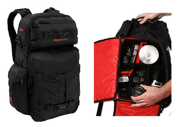 Best Travel Bag for Photographers: Burton Zoom 28L Backpack