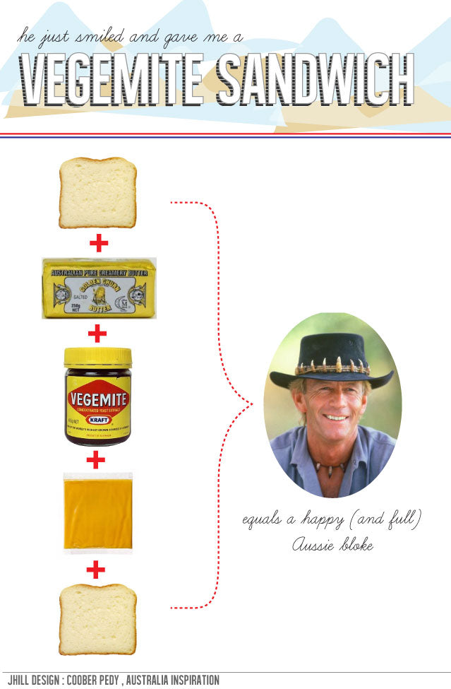 how to make a vegemite sandwich