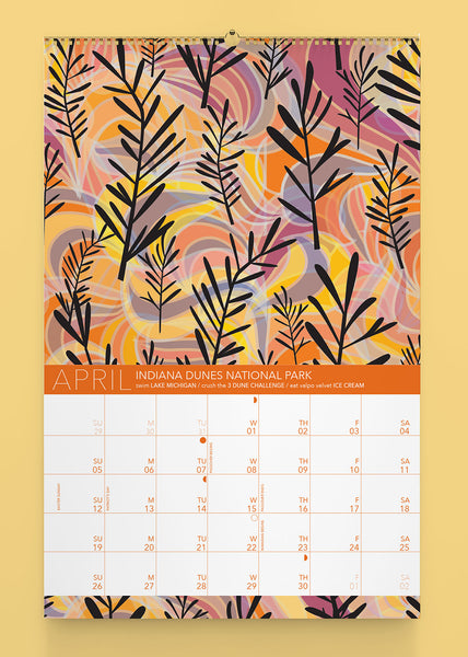 2020 National Parks Wall Calendar